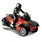 Радиоуправляемый мотоцикл Трицикл 1:10 T53 (свет, 28 см, аккум.)
