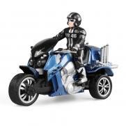 Радиоуправляемый мотоцикл Трицикл 1:10 - YD898-T57 (свет, 28 см, аккум.)