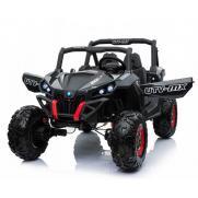 Двухместный полноприводный электромобиль Black Carbon UTV-MX Buggy 12V