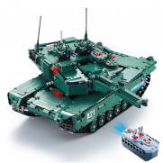 Конструктор Double E Cada Technics, Танк M1A2, 1498 деталей, пульт управления