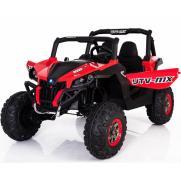 Двухместный полноприводный электромобиль Red UTV-MX Buggy 12V 2.4G