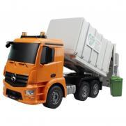 Радиоуправляемый мусоровоз Double E Mercedes-Benz Actros 1:20 2.4G