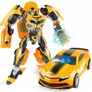 Робот-трансформер стальной ''Бамблби'' 30 см - J8069