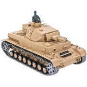Радиоуправляемый танк DAK Pz. Kpfw.IV Ausf. F-1 1:16 3858-1 PRO железные гусеницы  (дым, свет, звук, стрельба, 36 см)