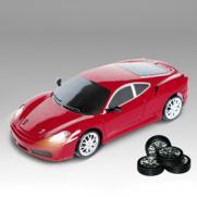 Мини-машинка для дрифта радиоуправляемая Ferrari F430 (полный привод, 15 см, свет)