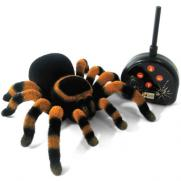 Робот паук на радиоуправлении ТАРАНТУЛ (светятся глаза, 25 см)