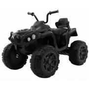 Детский квадроцикл Grizzly ATV 4WD Black 12V с пультом управления