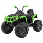 Детский квадроцикл Grizzly ATV 4WD Green/Black 12V с пультом управления