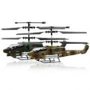Вертолетный бой на радиоуправлении JXD 353 (2 ударопрочных вертолета)