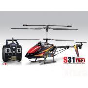 Радиоуправляемый вертолет Syma S31 2.4G (ЖК на пульте, 61 см)