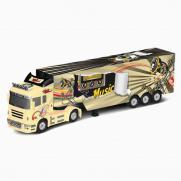 Радиоуправляемый грузовик (фура) с прицепом - QY0202A (длина 49 см)
