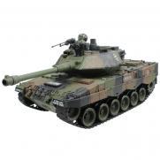 Танк радиоуправляемый Leopard 2 песочный 1:20 (стрельба шариками, 35 см)