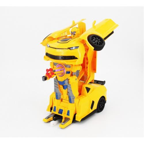 Радиоуправляемый робот трансформер Бамблби (свет, звук, 34 см)