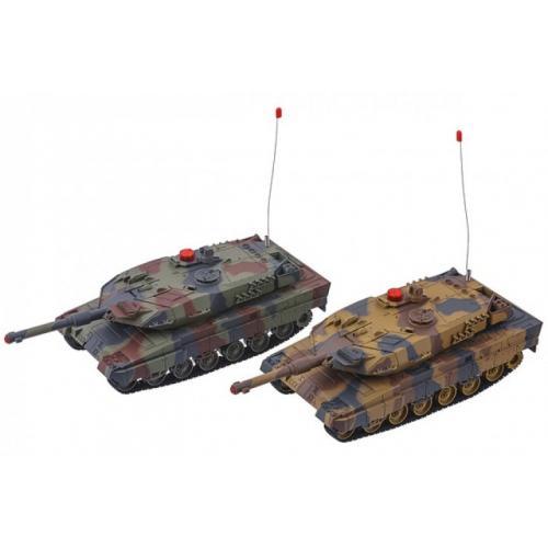 Радиоуправляемый танковый бой HQ558 масштаб 1:24 (2 танка по 30 см)