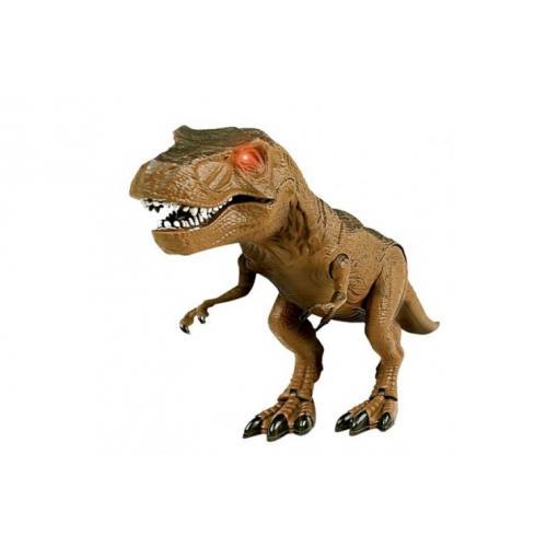 Динозавр на радиоуправлении с пультом (21 см, свет)