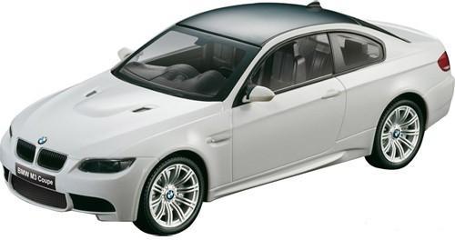 Радиоуправляемая машина BMW / БМВ M3 1:14 белая (аккум., свет, 33 см)