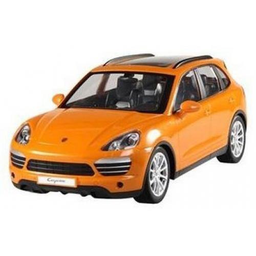 Радиоуправляемая машина Porsche Cayenne 1:14 оранжевая (аккум., 31 см)