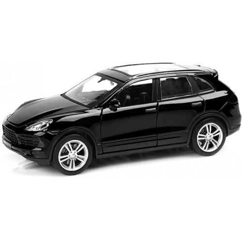 Металлическая модель Porsche Cayenne Black (музыка, свет, инерция) 1:32 - 25058С