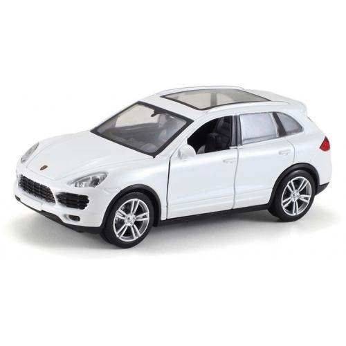 Металлическая модель Porsche Cayenne White (музыка, свет, инерция) 1:32 - 25058С