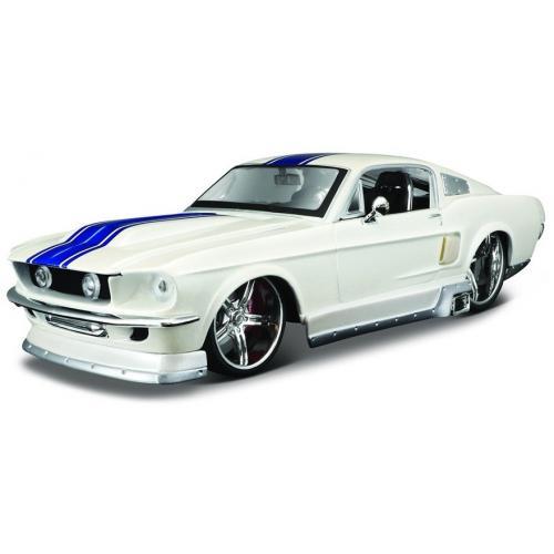 Металлическая модель Ford Mustang GT 1967 1:24 - 31021
