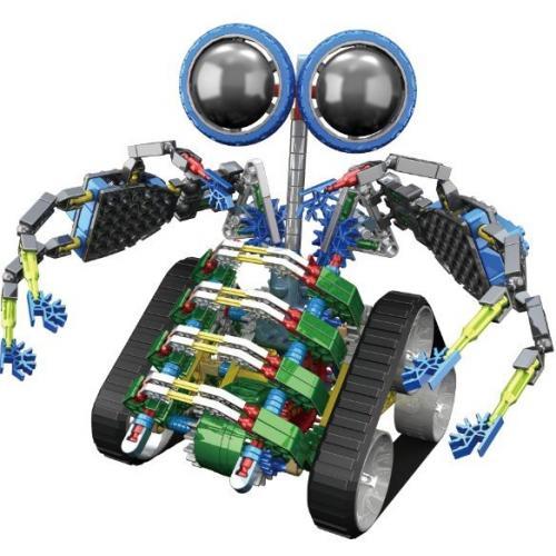 Конструктор на батарейках Робот, 362 детали