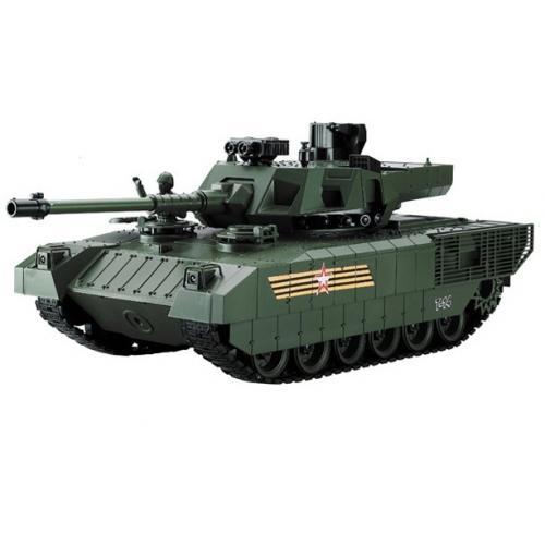 Радиоуправляемый танк CS RUSSIA T-14 Армата - YH4101H-19