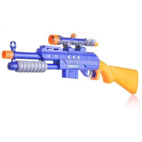 Ружье Super Shoot 2в1 (гелевые пули и мягкие пули) - 358-1