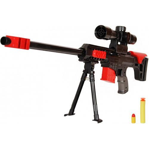 Винтовка Barret M89 механическая 2в1 резиновые и мягкие пули