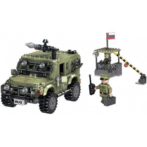 """Конструктор """"Военный внедорожник"""" - АР-01005"""