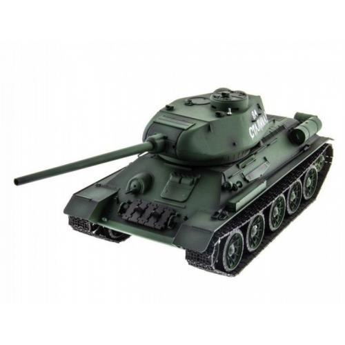 Радиоуправляемый танк HL T-34 / Т-34М Li-Ion с дымом 1:16 2.4G - HL-3909-1
