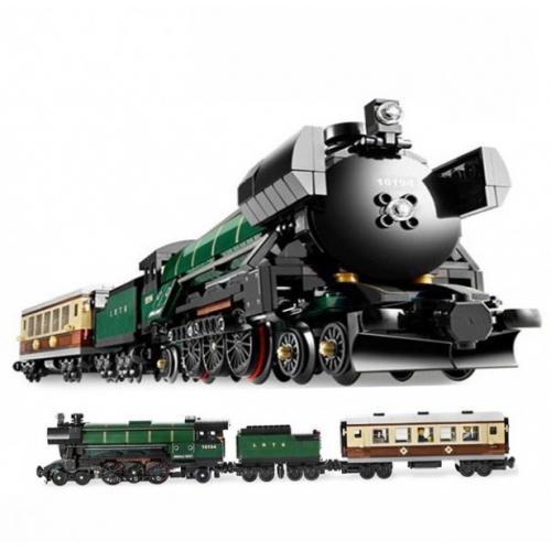 Конструктор Lepin 21005 Поезд Изумрудная ночь - Technic 10194