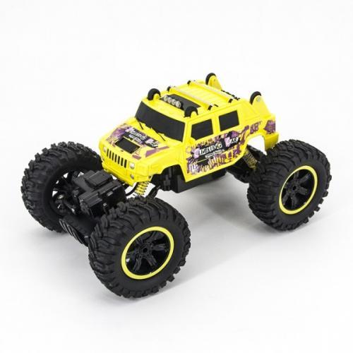 Радиоуправляемый краулер Hummer H2 1:14 желтый