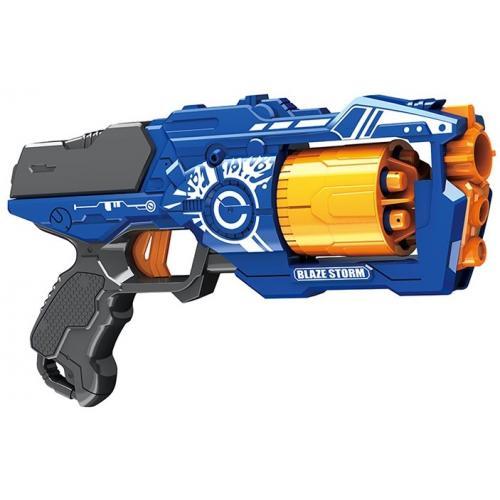 """Пистолет """"BlazeStorm"""" с мягкими пулями - 7092"""