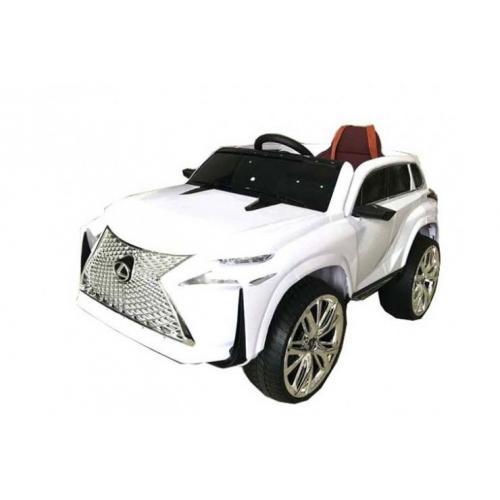 Детский электромобиль Lexus белый (113 см, до 50 м)