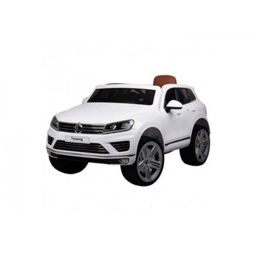 Детский электромобиль Volkswagen Touareg, белый (3 скорости)