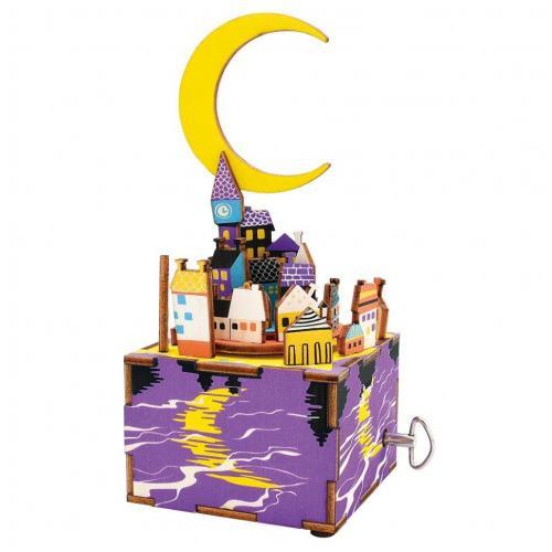 """Деревянный 3D конструктор - музыкальная шкатулка Robotime """"Midsummer Night's Dream"""""""