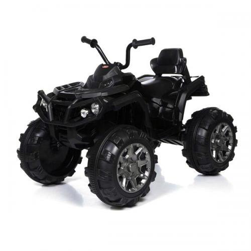 Детский квадроцикл Grizzly ATV Black 12V с пультом управления 2.4G