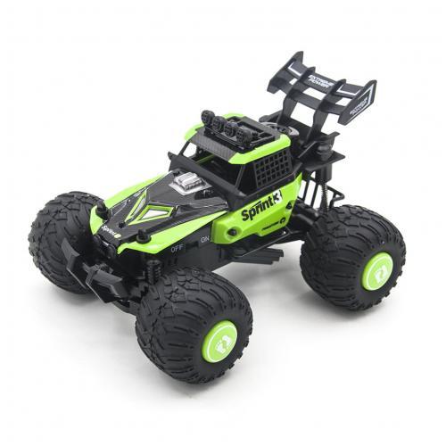 Радиоуправляемая трагги Green Ghost / Sprint 2WD 1:28 (сменные колеса и корпус)