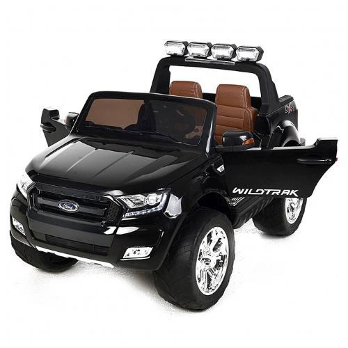 Детский электромобиль Ford Ranger Black 4WD MP4