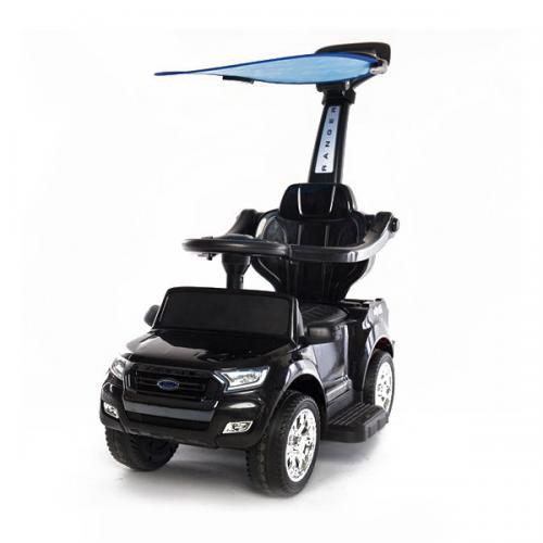 Детский электромобиль - каталка Dake Ford Ranger Black