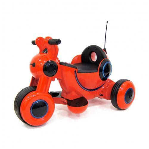 Детский мотоцикл на аккумуляторе красный 6V