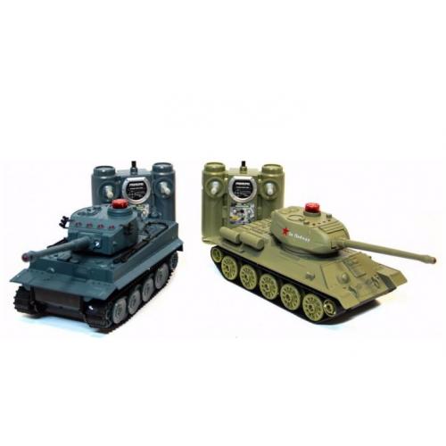 Радиоуправляемый танковый бой 1:28