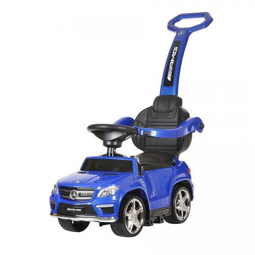 Детский электромобиль - каталка Mercedes GL63 AMG Blue
