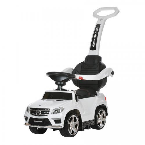 Детский электромобиль - каталка Mercedes GL63 AMG White
