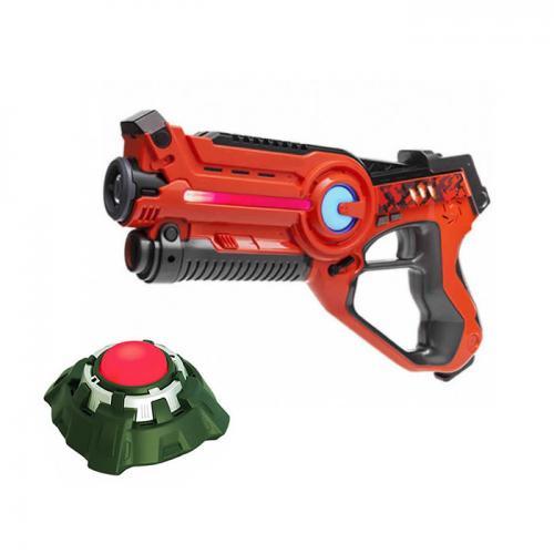 """Игровой набор """"Лазерный пистолет и мишень"""" на батарейках"""
