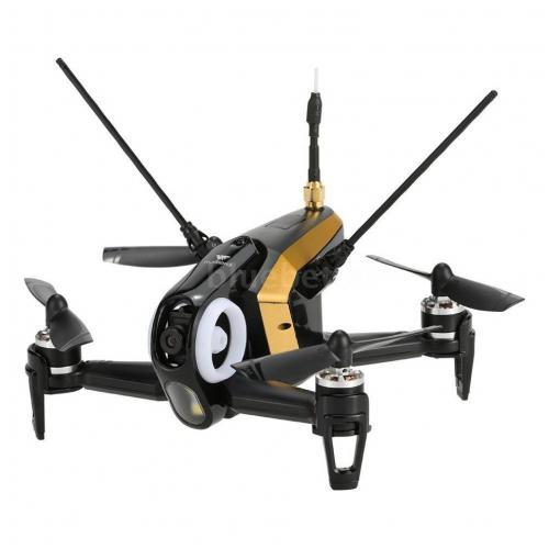 Черный гоночный квадрокоптер с камерой Walkera Rodeo 150 BNF + DEVO 7