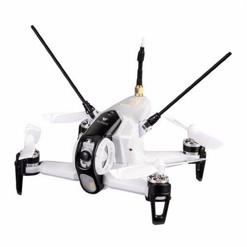 Белый гоночный квадрокоптер с камерой Walkera