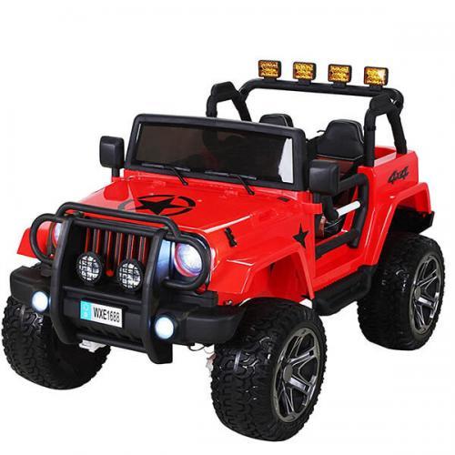 Радиоуправляемый красный джип Wrangler 2WD 2.4G