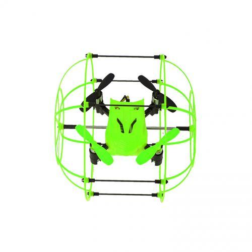 Радиоуправляемый квадрокоптер в клетке SkyWalker (езда по стенам, 16 см)
