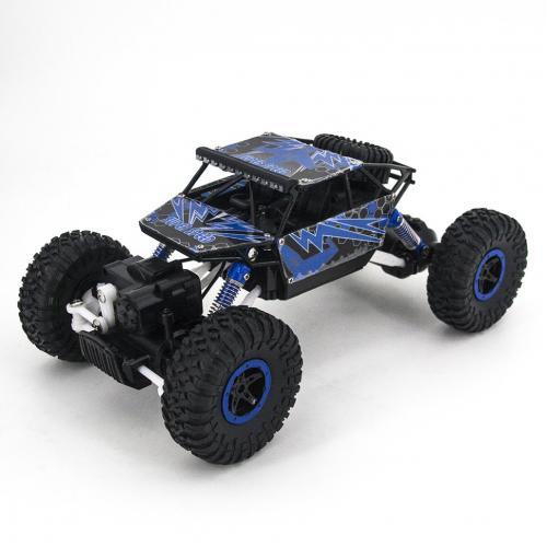 Радиоуправляемая модель джипа Краулер 4WD 1:18 (28 см, 20 км/ч)